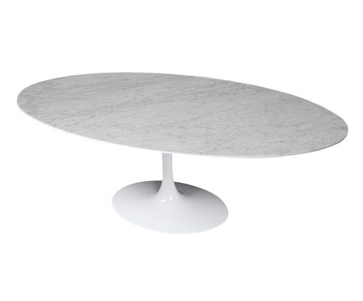 Mesa de Jantar em Mármore Tulipa - Carrara, Branco | WestwingNow