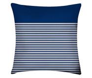 Capa de Almofada em Linho Misto Blue Stripe | WestwingNow