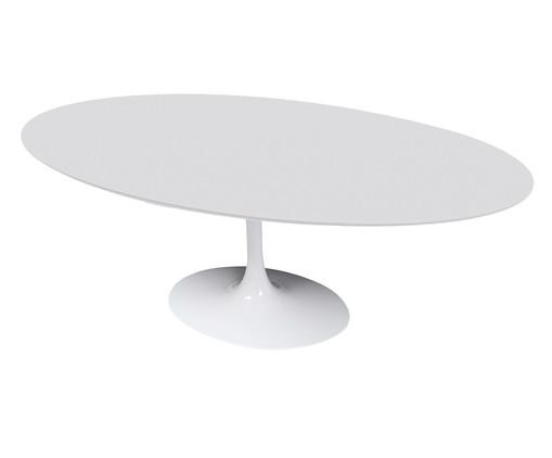 Mesa de Jantar em Laca Tulipa - Branca, Branco   WestwingNow