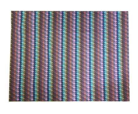 Manta para Harlequin Sofá  Azul e Preto | WestwingNow