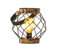 Lanterna Decorativa Rosario - Marrom | WestwingNow