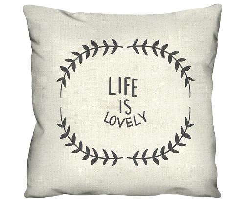 Capa de Almofada Life Is Lovely, Colorido | WestwingNow