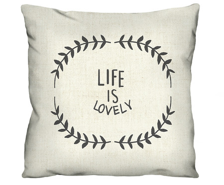 Capa de Almofada Life Is Lovely | WestwingNow