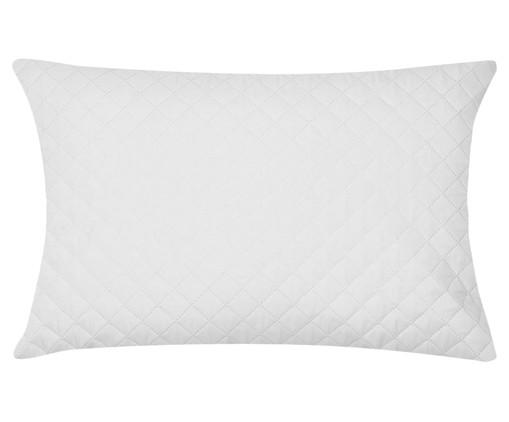 Protetor de Travesseiro Impermeável Caram - Branco, Branco   WestwingNow