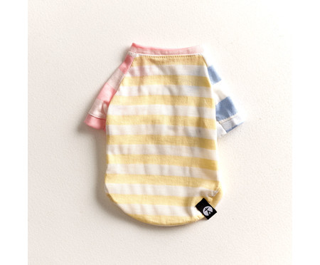 Camiseta para Cachorro Stripes Candy - Colorida | WestwingNow