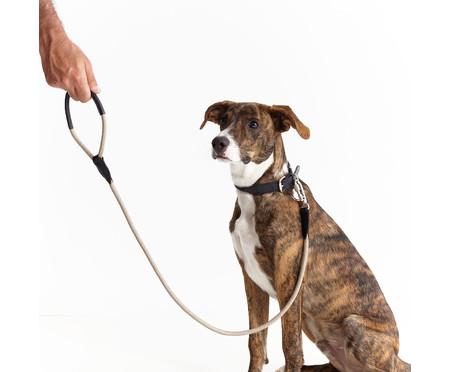 Guia para Cachorro Rope - Prata e Fendi | WestwingNow
