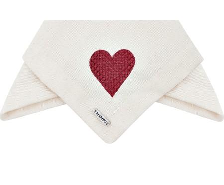 Guardanapo Bordado Coração - Off White | WestwingNow