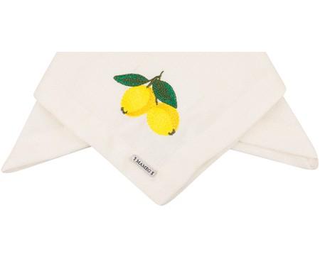 Guardanapo Bordado Lemon - Off White | WestwingNow
