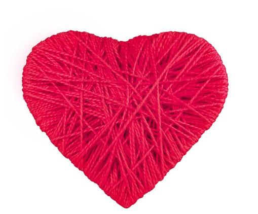 Anel para Guardanapo Coração - Vermelho, Vermelho   WestwingNow