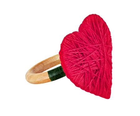 Anel para Guardanapo Coração - Vermelho | WestwingNow