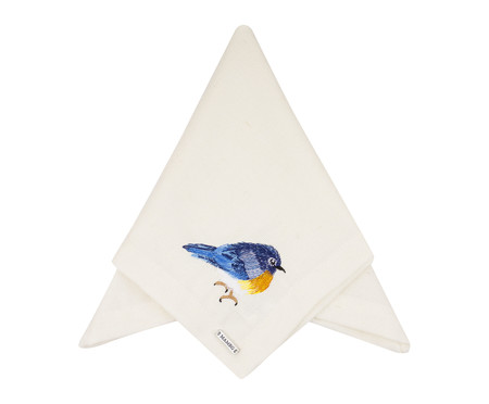 Guardanapo Bordado Natalie - Azul | WestwingNow