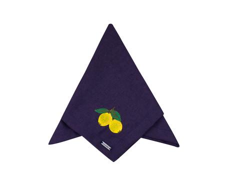 Guardanapo Bordado Lemon - Azul | WestwingNow