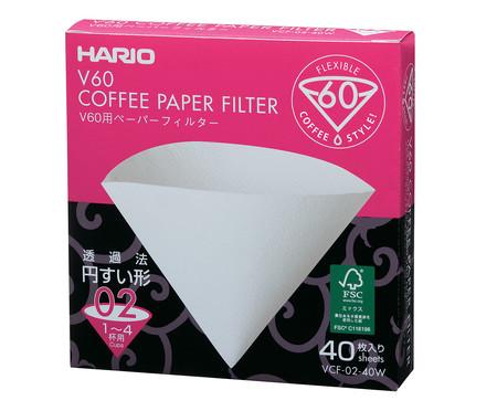 Filtro de Papel V60 Hario - Branco | WestwingNow