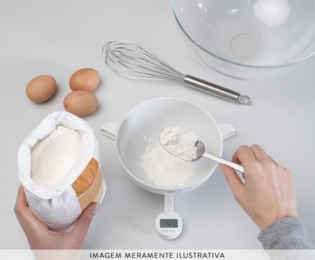 Balança Culinária Digital Dobrável - Branca | WestwingNow
