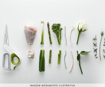 Tesoura de Cozinha Multifunções Hill - Branca | WestwingNow