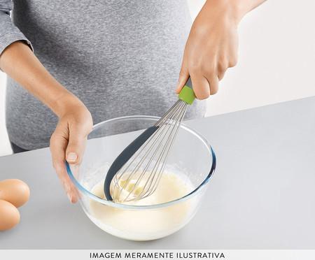 Batedor de Ovos com Raspador Gyda - Cinza | WestwingNow