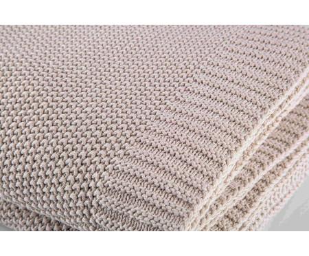 Manta em Tricô Loom - Off White | WestwingNow