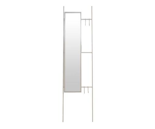 Espelho Escada Lizzie  - Cinza, Cinza   WestwingNow