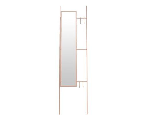 Espelho Escada Lizzie  - Rosa, Rosa | WestwingNow