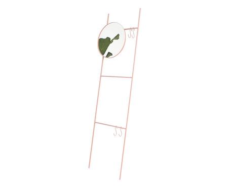 Espelho Redondo Escada Merle - Rosa | WestwingNow