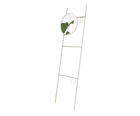 Espelho Redondo Escada Merle - Cinza   WestwingNow