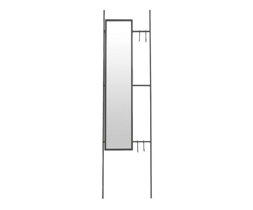 Espelho Escada Lizzie  - Preto, Preto   WestwingNow