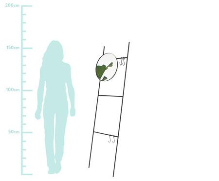 Espelho Redondo Escada Merle - Preto | WestwingNow