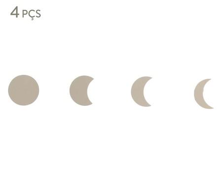 Conjunto de Ganchos Misty Fases da Lua - Cinza | WestwingNow