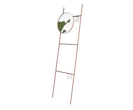 Espelho Redondo Escada Merle - Terracota   WestwingNow
