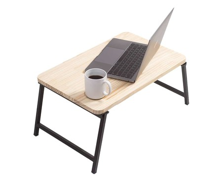Mesa para Notebook Eva - Preto | WestwingNow