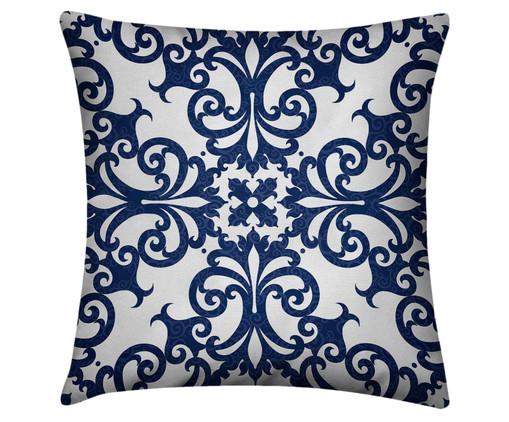 Capa de Almofada Krister, Branco, Azul | WestwingNow