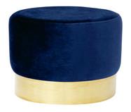 Pufe Harlow - Azul Índigo | WestwingNow