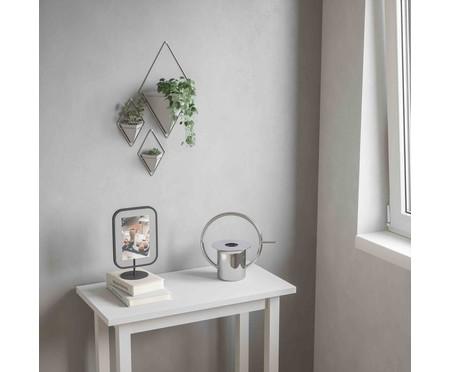 Jogo de Cachepots Decorativo de Parede Lis - Branco | WestwingNow