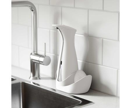 Dispenser de Sabonete Líquido com Sensor e Porta Esponja Joy - Branco | WestwingNow