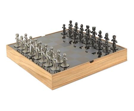 Jogo de Xadrez Buddy - Preto | WestwingNow