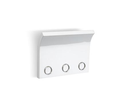 Porta Correspondências e Chaveiro Magnético Zoe - Branco | WestwingNow