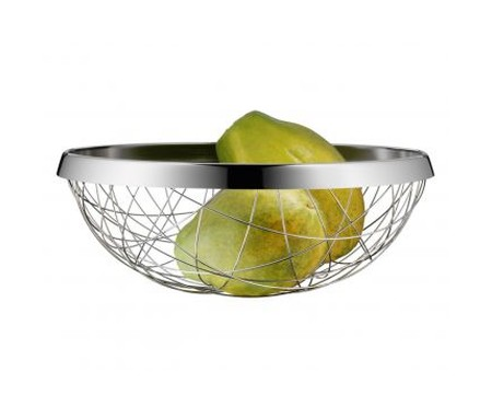 Fruteira de Mesa em Inox Geada - Prata | WestwingNow