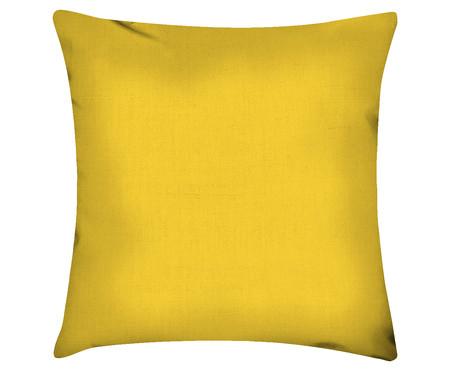 Capa de Almofada em Linho Misto Lauren - Amarelo | WestwingNow