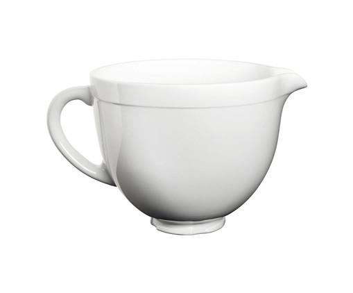 Bowl White Chocolate em Cerâmica para Stand Mixer - Branco, Branco | WestwingNow