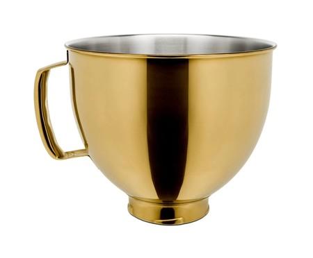 Bowl Radiant em Aço Inox para Stand Mixer - Dourado | WestwingNow