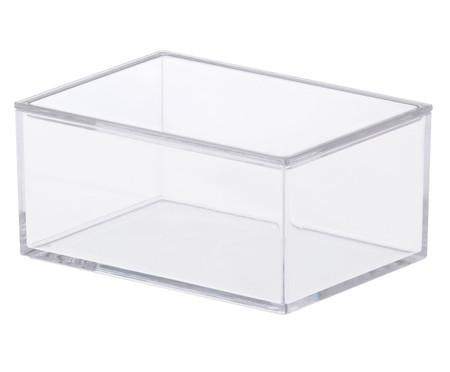 Caixa Organizadora Nigel Transparente - 8x5,5cm | WestwingNow