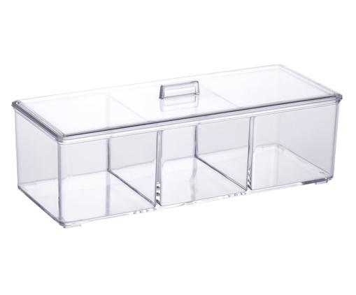 Caixa Organizadora Ori - Transparente, Transparente | WestwingNow