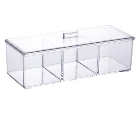 Caixa Organizadora Ori - Transparente | WestwingNow