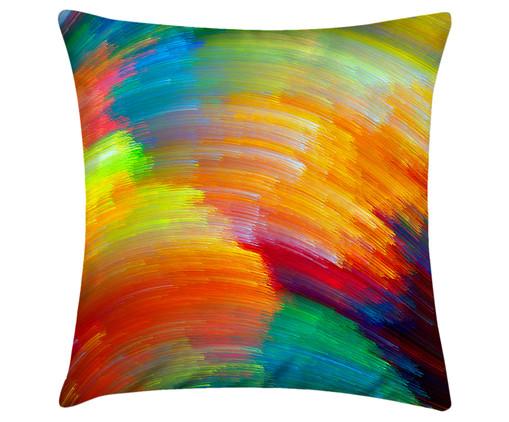 Capa de Almofada em Linho Misto Giada - Colorida, Colorido | WestwingNow