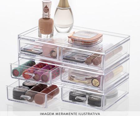 Caixa Organizadora Fletcher - Transparente | WestwingNow