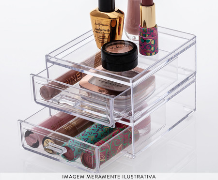 Caixa Organizadora Thráin - Transparente | WestwingNow