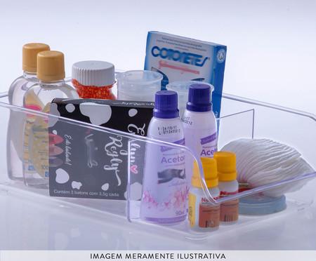Organizador com Divisórias Durin - Transparente | WestwingNow