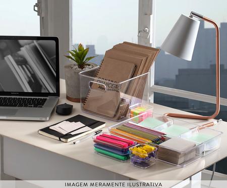Caixa Organizadora Rúbeo - Transparente | WestwingNow