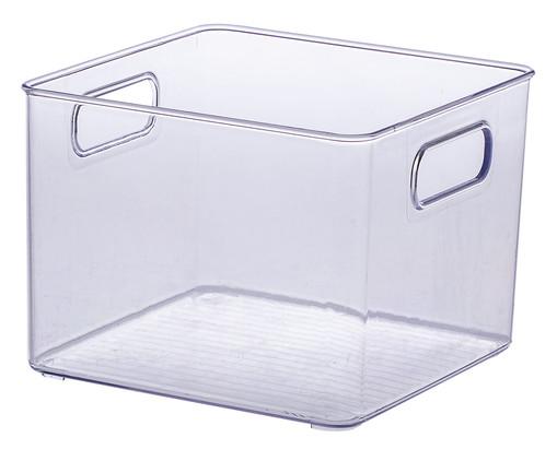 Caixa Organizadora Rúbeo - Transparente, Transparente   WestwingNow