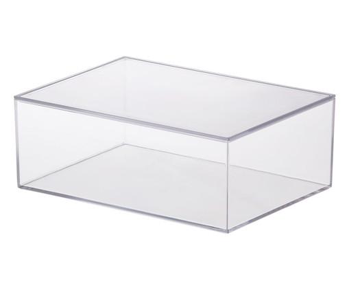 Caixa Organizadora Théodred - Transparente, Transparente   WestwingNow